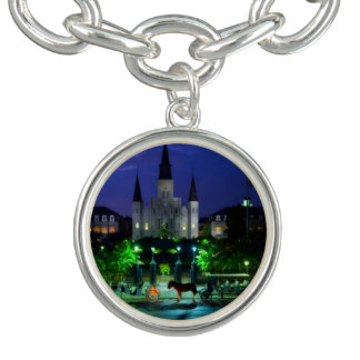 New Orleans Louisiana Charm Bracelets