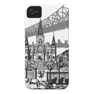 New Orleans Louisiana iPhone 4 Case-Mate Cases