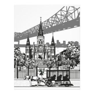 New Orleans Louisiana Letterhead