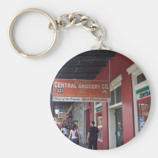 NEW ORLEANS LOUISIANA PAINTINGS DRAWINGS BASIC ROUND BUTTON KEYCHAIN