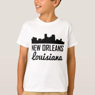 New Orleans Louisiana Skyline T-Shirt