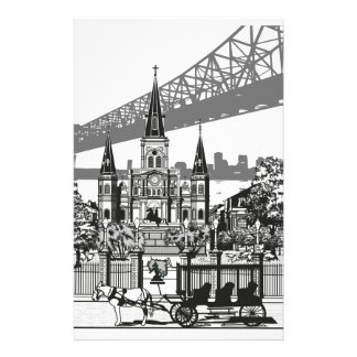 New Orleans Louisiana Stationery