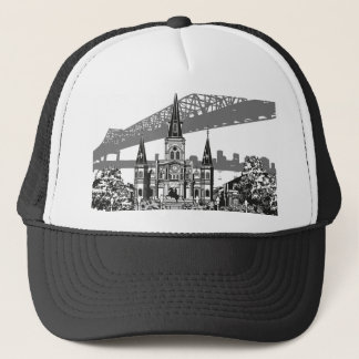 New Orleans Louisiana Trucker Hat