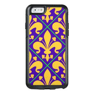New Orleans Mardi Gras Fleur de Lis OtterBox iPhone 6/6s Case
