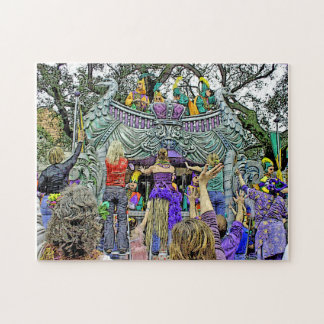 New Orleans Mardi Gras Parade Jigsaw Puzzle