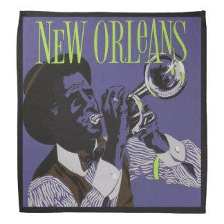 New Orleans Music bandana