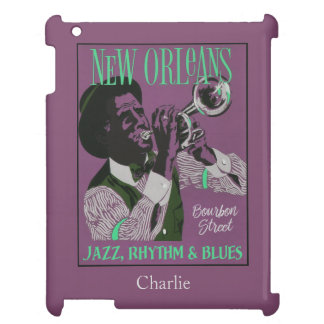 New Orleans Music custom name device cases iPad Cover