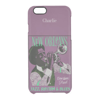 New Orleans Music custom name phone cases