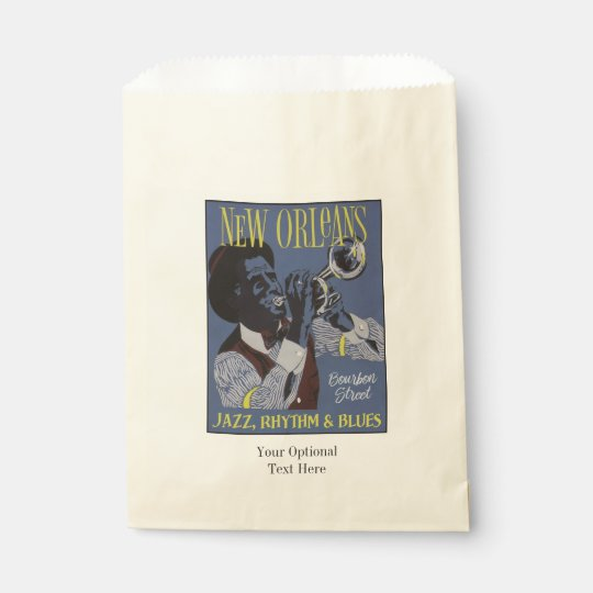 New Orleans Music favour bags