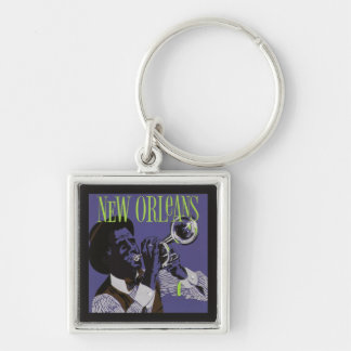 New Orleans Music key chains