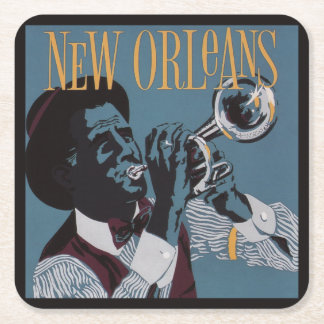 New Orleans Music paper coasters