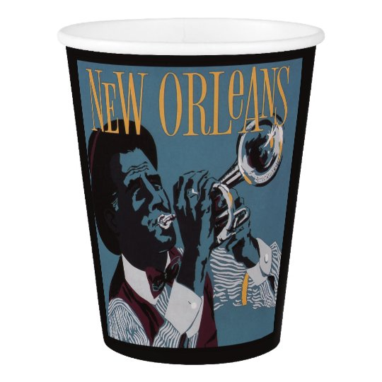 New Orleans Music paper cups Paper Cup