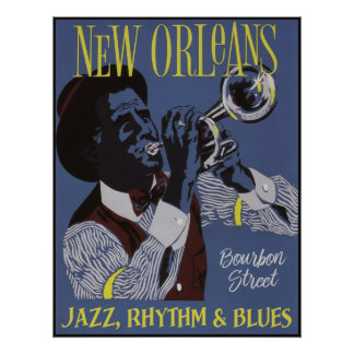 New Orleans Music poster 1/3