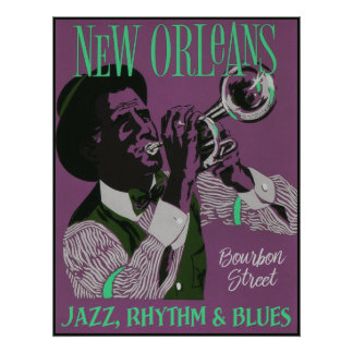 New Orleans Music poster 2/3