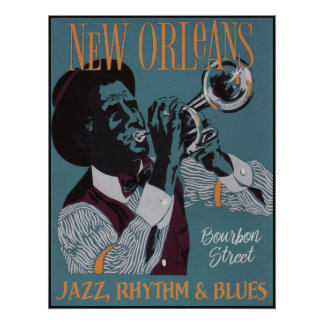 New Orleans Music poster 3/3