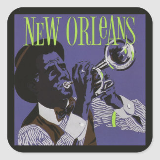 New Orleans Music stickers