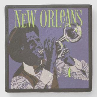 New Orleans Music stone coasters Stone Beverage Coaster