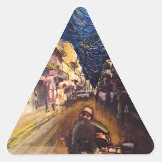 New Orleans Musician 2006 Triangle Sticker