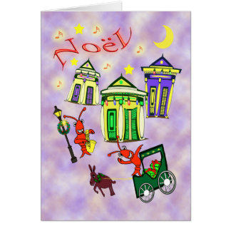 New Orleans Noël Christmas Card