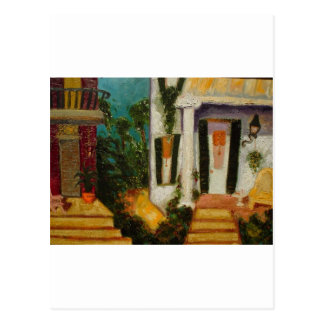 New Orleans Porches Postcard