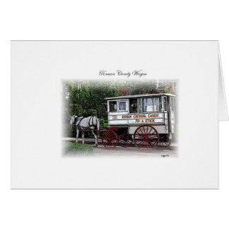 New Orleans Roman Candy Wagon Card