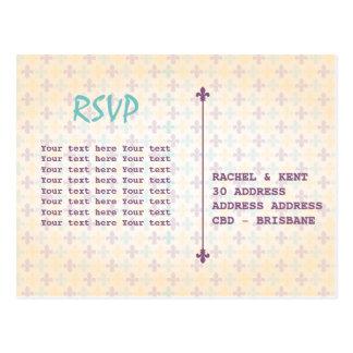 New Orleans RSVP Postcard