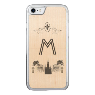 New Orleans Scene Carved iPhone 7 Case
