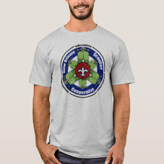New Orleans Scooter Cooperative t-shirt