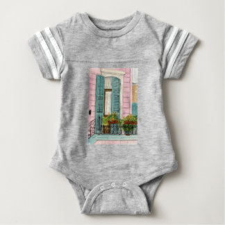 New Orleans Shitters Baby Bodysuit