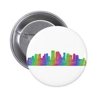 New Orleans skyline 2 Inch Round Button