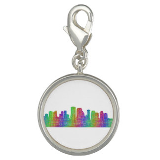 New Orleans skyline Charms