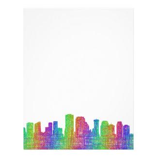 New Orleans skyline Letterhead
