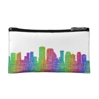 New Orleans skyline Makeup Bags
