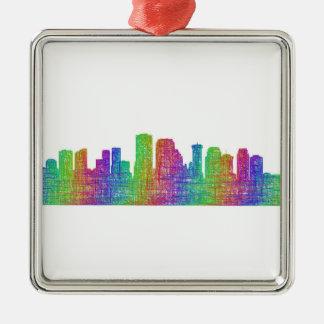 New Orleans skyline Metal Ornament