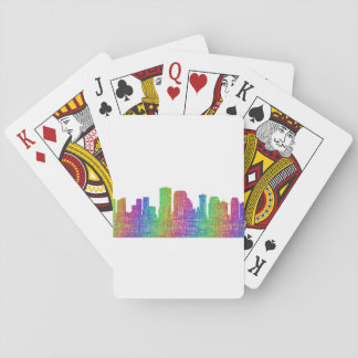 New Orleans skyline Playing Cards