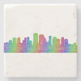 New Orleans skyline Stone Coaster
