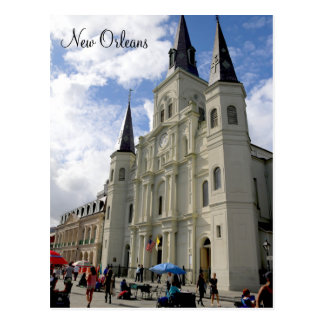 New Orleans St. Louis Cathedral Post Card