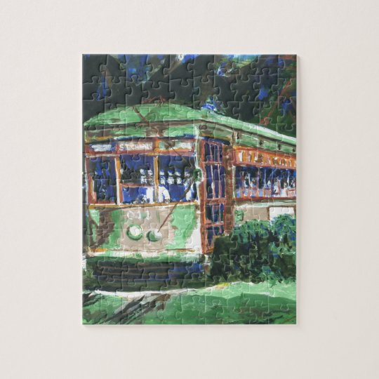 New Orleans Street Car Jigsaw Puzzle