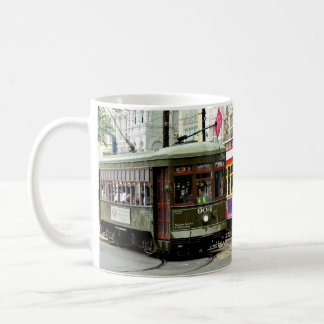 New Orleans Street Cars Coffee Mug