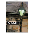 New Orleans Street Sign, edit name Card