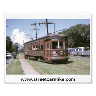 New Orleans Streetcar 961 8x10 Print