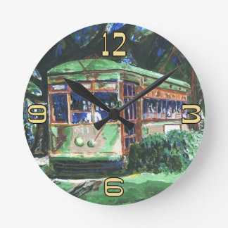 New Orleans Streetcar Clock Face