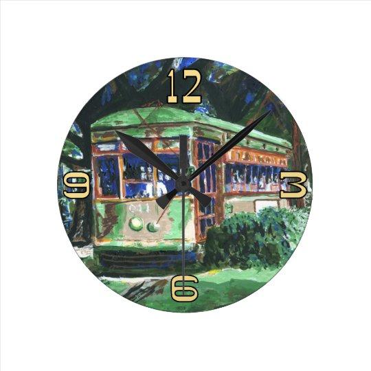 New Orleans Streetcar Clock Face