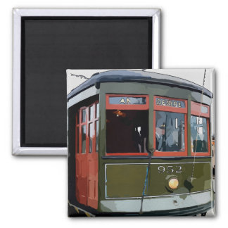 New Orleans Streetcar Desire Magnet