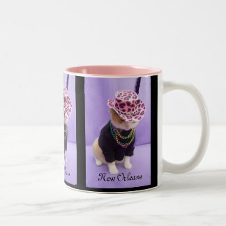 New Orleans Two-Tone Coffee Mug