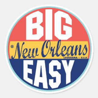 New Orleans Vintage Label