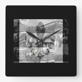 New Orleans [Wall Clock] Square Wall Clock