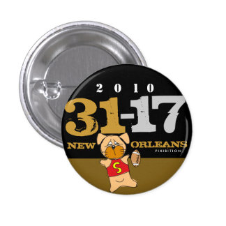 New Orleans Who Dat Show Off The Score Button