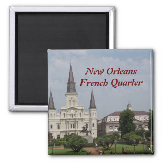 New Orleasn French Quarter Magnet