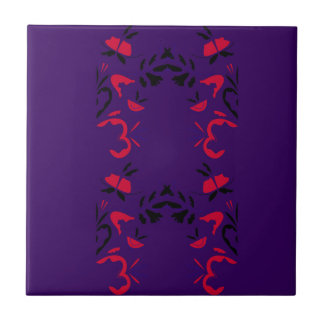 New ornaments in shop / Purple Ceramic Tile